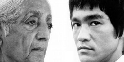 Bruce Lee et Jiddu Krishnamurti