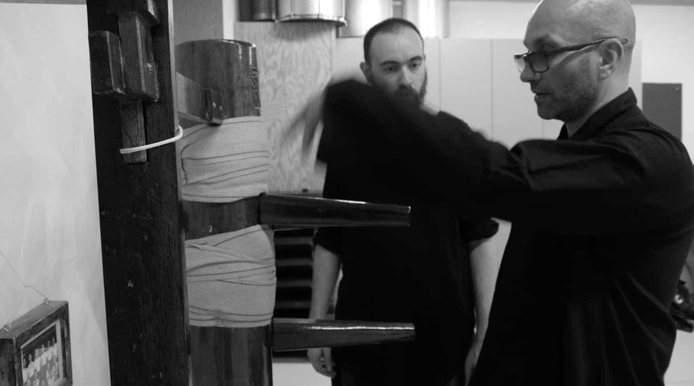 Armand Florea Wing Chun Bordeaux Stage Manequin et Chi Sao 1